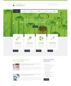 WordPress šablona na téma Věda č. 49466
