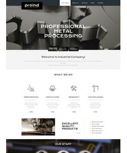 WordPress šablona na téma Podnikání č. 49645