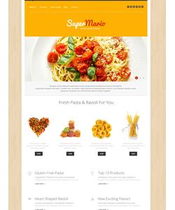 WordPress šablona na téma Café a restaurace č. 50738