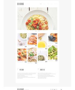 WordPress šablona na téma Café a restaurace č. 50762