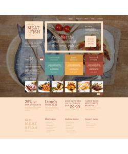 WordPress šablona na téma Café a restaurace č. 51089