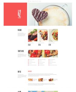 WordPress šablona na téma Café a restaurace č. 51248