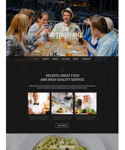 WordPress šablona na téma Café a restaurace č. 51323