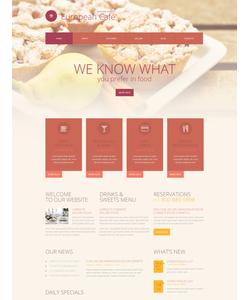 WordPress šablona na téma Café a restaurace č. 52062