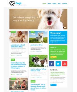 WordPress šablona na téma Zvířata č. 52170