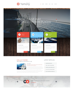 WordPress šablona na téma Cestování č. 52270