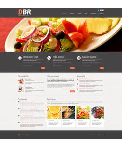 WordPress šablona na téma Café a restaurace č. 52334