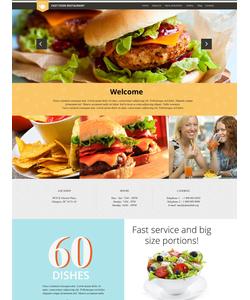 WordPress šablona na téma Café a restaurace č. 52426