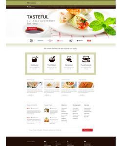 WordPress šablona na téma Café a restaurace č. 52438