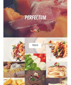 WordPress šablona na téma Café a restaurace č. 52443