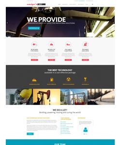 WordPress šablona na téma Podnikání č. 52551