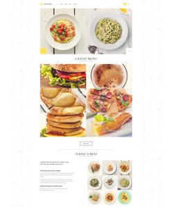 WordPress šablona na téma Café a restaurace č. 52704