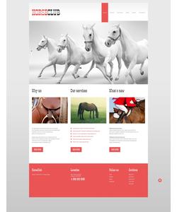 WordPress šablona na téma Zvířata č. 52705
