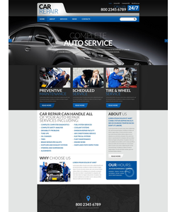 WordPress šablona na téma Auta č. 52721