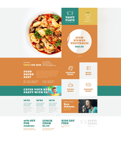 WordPress šablona na téma Café a restaurace č. 52836