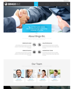 WordPress šablona na téma Podnikání č. 53091