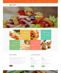 WordPress šablona na téma Café a restaurace č. 53143