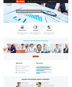 WordPress šablona na téma Podnikání č. 53265