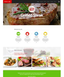 WordPress šablona na téma Café a restaurace č. 53373