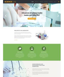 WordPress šablona na téma Věda č. 53376