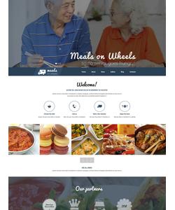 WordPress šablona na téma Café a restaurace č. 53393