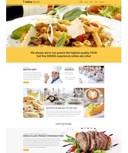 WordPress šablona na téma Café a restaurace č. 53436