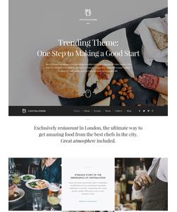 WordPress šablona na téma Café a restaurace č. 53445