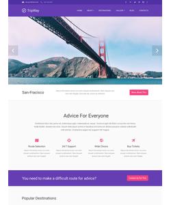 WordPress šablona na téma Cestování č. 53493