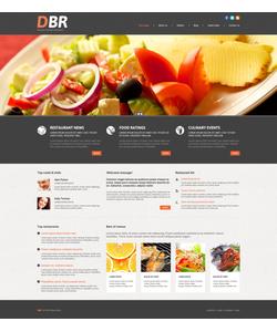 WordPress šablona na téma Café a restaurace č. 53999