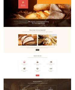 WordPress šablona na téma Café a restaurace č. 54000