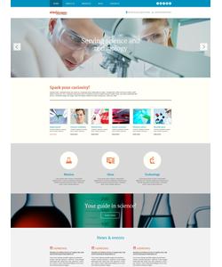 WordPress šablona na téma Věda č. 54046