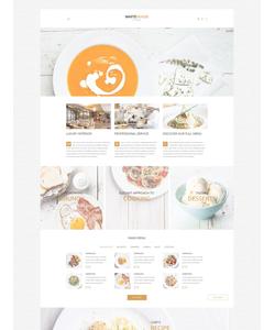 WordPress šablona na téma Café a restaurace č. 54578