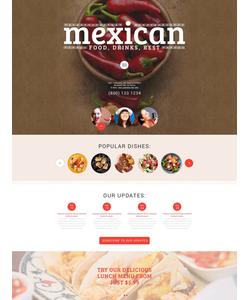 WordPress šablona na téma Café a restaurace č. 54733