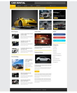 WordPress šablona na téma Auta č. 54849