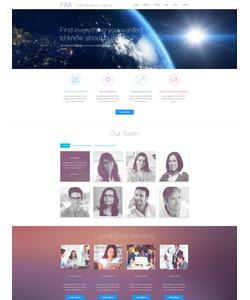 WordPress šablona na téma Podnikání č. 54936
