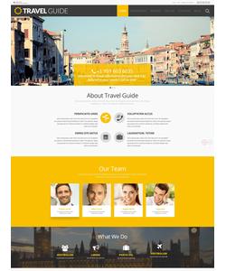 WordPress šablona na téma Cestování č. 54988