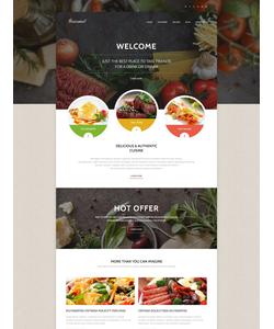 WordPress šablona na téma Café a restaurace č. 55376