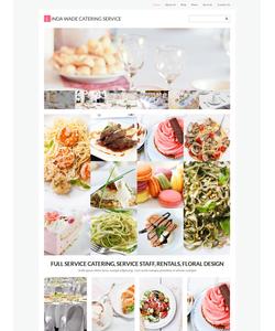 WordPress šablona na téma Café a restaurace č. 55455