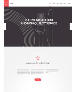WordPress šablona na téma Café a restaurace č. 55690