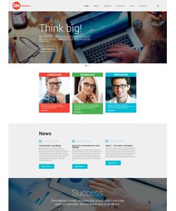 WordPress šablona na téma Podnikání č. 55944