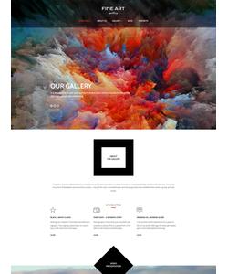 WordPress šablona na téma Umění a fotografie č. 56092