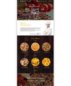 WordPress šablona na téma Café a restaurace č. 56097