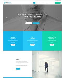 WordPress šablona na téma Podnikání č. 57758