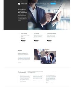 WordPress šablona na téma Podnikání č. 57761