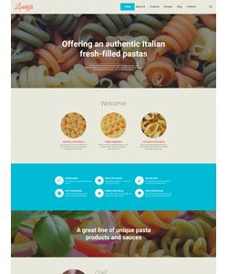 WordPress šablona na téma Café a restaurace č. 58382