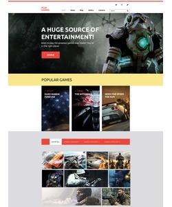WordPress šablona na téma Hry č. 58412