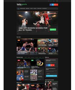 WordPress šablona na téma Sport č. 58446