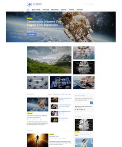 WordPress šablona na téma Média č. 58459