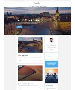 WordPress šablona na téma Cestování č. 58534