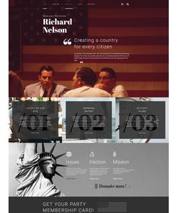 WordPress šablona na téma Politika č. 58658